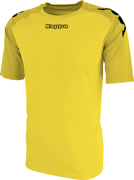 Paderno Match Shirt SS Yellow / Golden Yellow